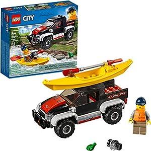 LEGO City Great Vehicles Kayak Adventure 60240 Building Kit (84 Pieces)
