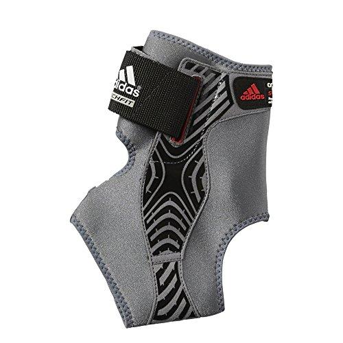 adidas Adizero Speedwrap Right Ankle Brace, Medium Lead/Black, Medium