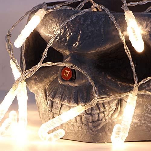 20 Led Lichterkette 2,5M Lichter Weihnachtsschnur Weihnachtsstock Styling Dekorative Schnur Im Freien Fairy Crutch Lampe Patio Lawn Decor Licht Leds Beleuchtungs Effekt Wasserdicht