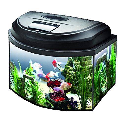 Aquael Aquarium Set AQUA4KIDS inkl. Abdeckung, Filter, Heizer 40x25x25 gewölbt