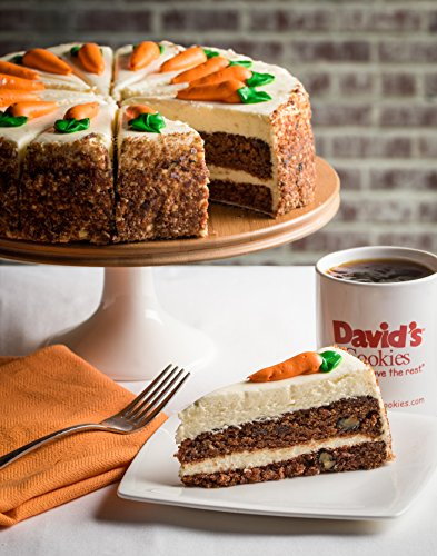 Product Image 3: David's Cookies Layered Carrot Cake 10″