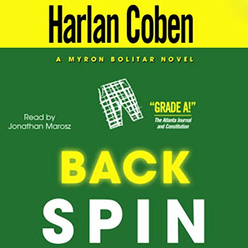 Back Spin audiobook cover art