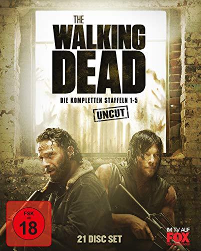 The Walking Dead - Staffeln 1-5 [Blu-ray]