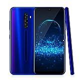 4G Smartphone Ohne Vertrag,XGODY Note8 6.26 Zoll qHD Android 9.0 Wassertropfen Bildschirm Handy,8MP+5MP Dual Kamera Dual SIM-frei Entriegelt Mobilephone,Facial Freigeschaltet,16GB ROM(Blau)