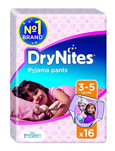 Drynites - Braguitas absorbentes, 3-5, niña, 16 unidades