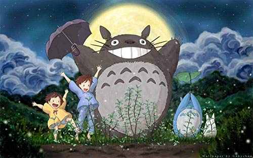 IMAX888 1000 Pieces Adults Puzzle 3D Wooden Gift Child Game Adults Decorative Poster Impossible Crossword Birthday Gift/Totoro/Hd Poster
