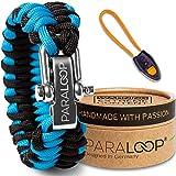 Bracelet paracorde avec sifflet