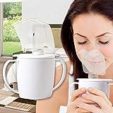 Taza Inhaladora Vapor Caliente Personal Sinusitis Congestion Gripa