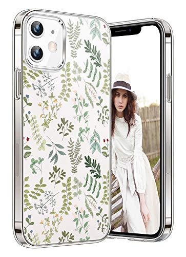 Funda compatible con iPhone 12 Pro Max, carcasa de TPU de silicona, transparente, suave, transparente, flexible, antiarañazos, funda trasera para teléfono móvil (5)