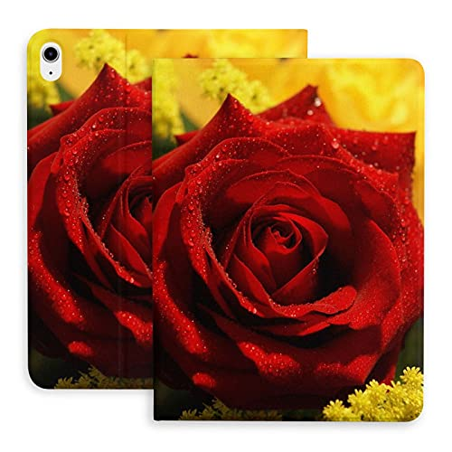 Red Roses Flower Rose Pictures jpg The protective case is suitable for iPad Air 4th generation. Stand case