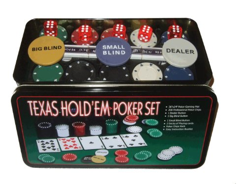 SET 200 PEZZI POKER FICHES FISH CHIPS CON SCATOLA TEXAS HOLD'EM