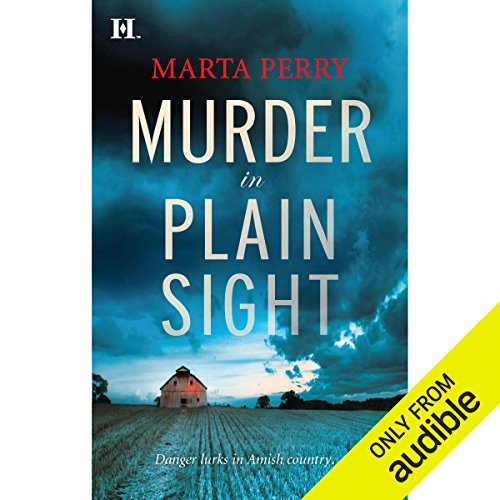 Murder in Plain Sight audiobook cover art