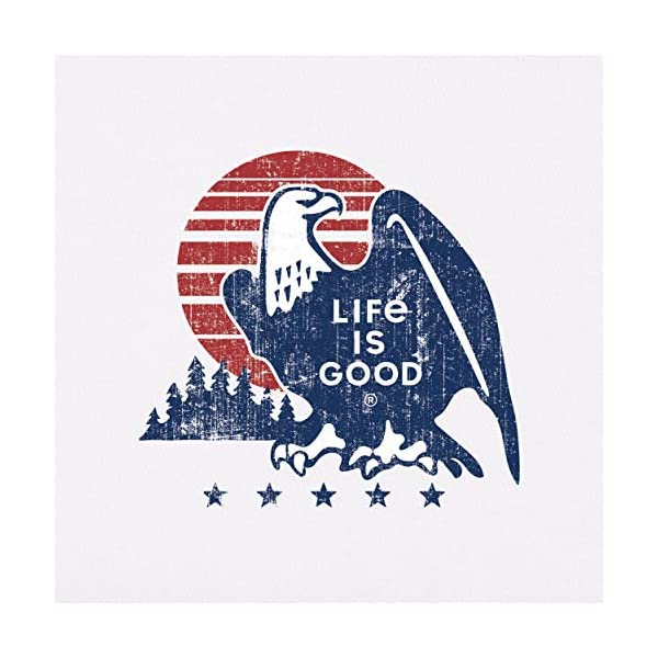 Life is Good Mens Crusher Pet Graphic T-Shirt
