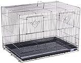 Prevue Hendryx SPF063 Divided Flight Cage, Black