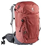 Deuter Trail Pro 30 SL Mochila para Senderismo, Mujer, Rojo y Gris, 30 L