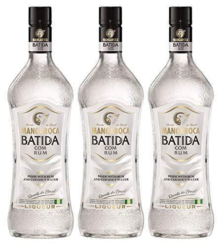 Batida de Côco Mangaroca Batida com Rum Liköre (3 x 0.7 l)