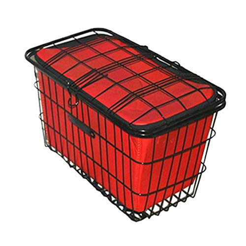 Buy MAODATOU-Sport Bike Basket Cycling Bag with Lid and Waterproof Linner Pet Cat Dog Bicycle Basket...