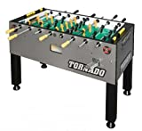 The Tornado Platinum Tour Edition Coin Operated Foosball Table