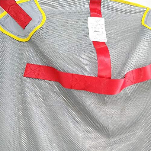 513SoI0WzNL - DZWJ Esparcidor de Honda de protección Transpirable en Forma de Red Ayuda al Paciente Bariátrica Resistente de Malla de Cuerpo Completo Eslinga de elevación del Paciente
