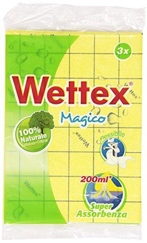 Wettex–Reinigungstuch Mehrzweck, Absorption Super–3-teilig