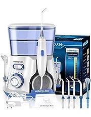 WaterPulse Irrigator Oral Dental Electric Power Floss Dental Water Jet Cleaning Teeth Water Flosser With 5 Jet Tips Spa