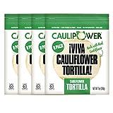 CAULIPOWER Tortillas, Original, 7 Ounce (Pack of 4)