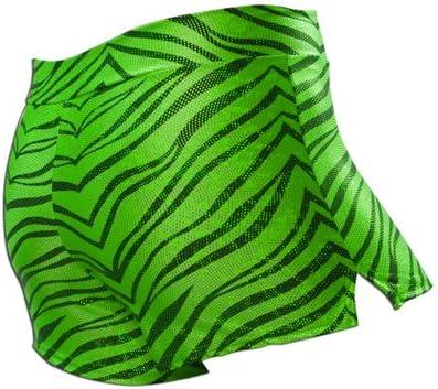 Pizzazz Atlanta Mall Performance Wear 1450ZG Zebra Rapid rise Glitter Short Adult