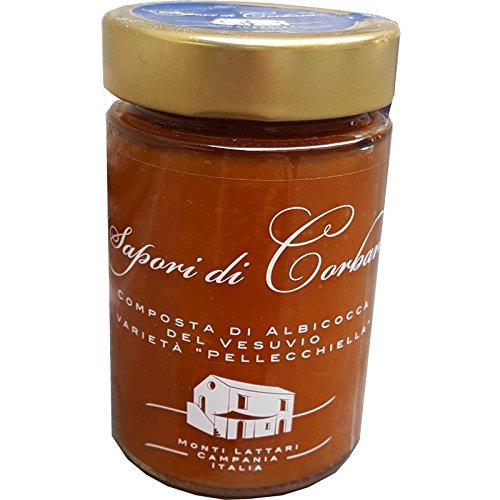 Composta di Albicocca del Vesuvio Gr. 180 varietà 'Pellecchiella' - Cartone 6 Pezzi