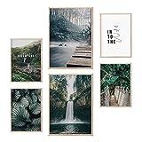 myDreamwork Hochwertiges Poster Set | Ästhetik | Jungle