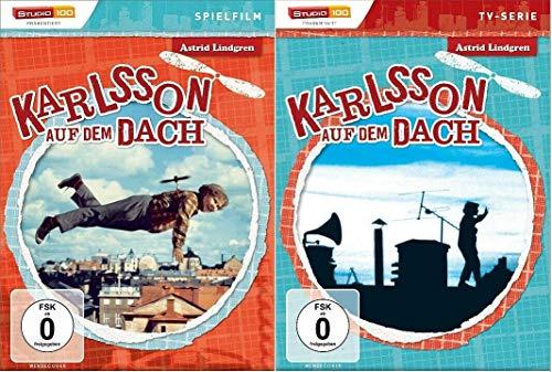 Karlsson auf dem Dach Spielfilm TV-Serie deutsch, DVD Set, Astrid Lindgreen vom Dach