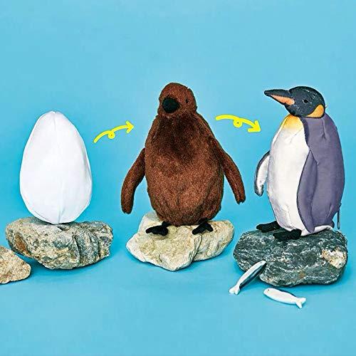 tianluo Plüschtier Pinguin Wachstum Plüschtier Dreifach Ändern Sie Den Prozess Der Pinguin Geburt Osaka Aquarium Pinguin Puppe Figuren Veränderlich