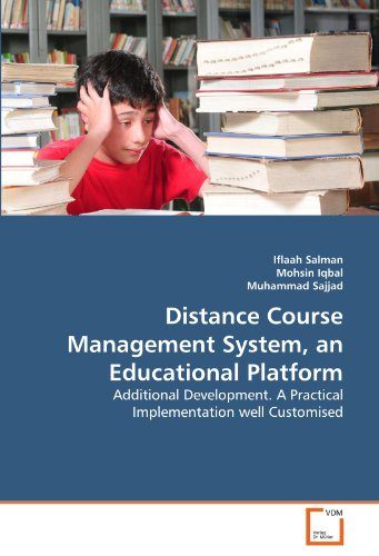 Distance Course Management System, an Educational Platform