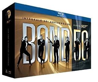 James Bond 007-Bond 50 : Intégrale 50ème Anniversaire des 22 Films [Édition Limitée] (B006VCDMQU)   Amazon price tracker / tracking, Amazon price history charts, Amazon price watches, Amazon price drop alerts