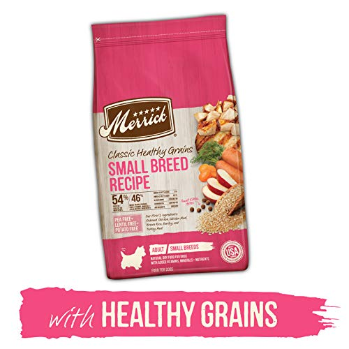 Merrick Classic Healthy Grains Recipes Dry Dog Food