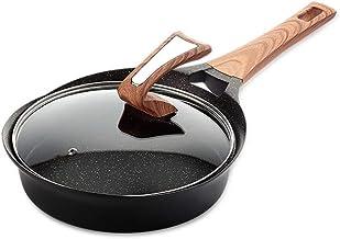 JBJWM Non-stick pan, steak, frying pan, pot, non-stick pan, no smoke, small wok (Size : A)