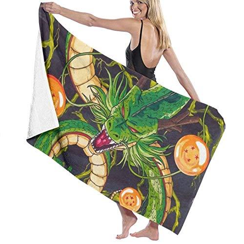 Custom made Toallas de baño con bola de dragón para cocina, toalla de viaje de playa, toalla de viaje para piscina, baño, spa, fitness, natación, mascotas, camping, decoración del hogar al aire libre