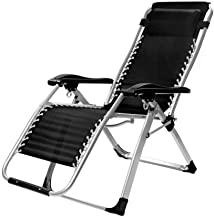 Home Outdoor/Recliner Folding Chair Lunch Break Chair Beach Chair Zero Gravity Chair Office Chair Sun Lounger Garden Terrace Multi Function Adjustable Sofa Bed Lightweight Camping Chair