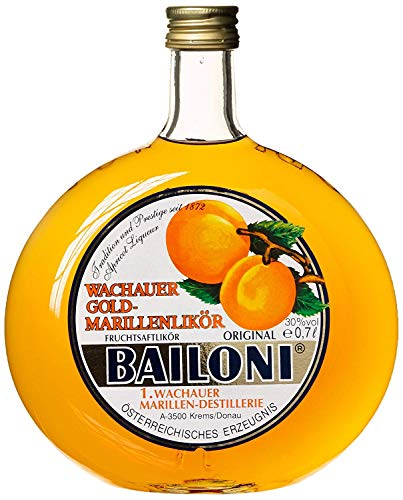 6 Flaschen Bailoni Marillenlikör a 0,7L Likör Marille