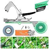 Haushalt Pflanze ART Tying Branch Machine, KING DO WAY Bindezange Tapetool Bindemaschine mit Tapes für Pflanze Rankhilfen Rebe,Grün Landwirtschaft Bindemaschine Garten für Garten Trauben Tomaten