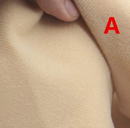 50 * 145cm vlees kleur DIY pop huid textiel vezel hoge dichtheid Nap naaien patchwork handgemaakte One size A