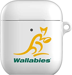Official Wallabies Case for AirPod 1&2 Case,Airpods Accessories,Airpods Skin,Protective Cover Case Compatible for Airpods 1 & 2 Charging Case Rugby Australia Supporters Case