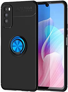 Dalchen Compatible for Case Huawei Enjoy Z 5G, Invisible Metal 360°Rotatable Ring Bracket, Kickstand for Magnetic Car Moun...