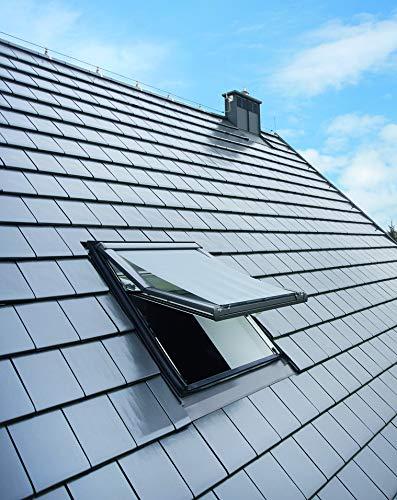 Roto DE xx M Original Außenrollo (ZAR) Dachfenster R4/R7, Breite 05 (54cm), schwarz