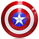 ZYER Escudo de Vestuario de Capitán América, Réplica De Marvel Prop,Capitán de América, Talla única ...
