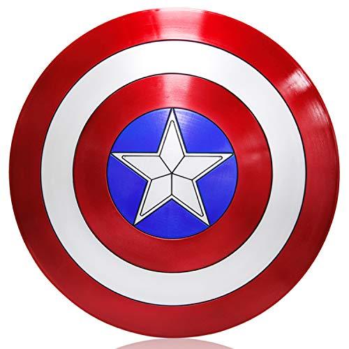 ZYER Captain America Shield Plastikkostümschild Erwachsene Einheitsgröße Amerika Herren Requisiten Cosplay-Schild
