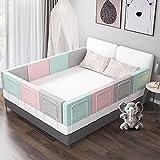 Protector Cuna Barrera cama infantil, Nido Bebe Jane Protector de Bordes Para Bebé Cuna Nido Ropa para cuna camas de bebé Funda Capazo Universal