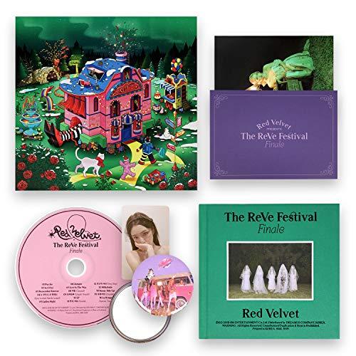 RED VELVET Repackage Album - The ReVe Festival Finale [ FINALE ver. ] CD + Photobook + Postcard + Photocard + FREE GIFT / K-POP Sealed
