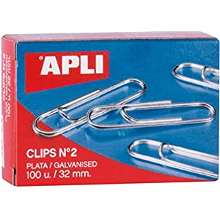 5 Star 505337, 503352 Paperclips Metal Large 32mm Plain [Pack of 100]