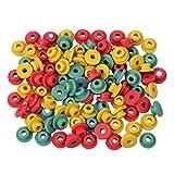 HEALLILY gommini di tenuta in gomma capezzoli macchina per tatuaggi ago gommini pad per barra di armatura fornitura 100 pz (colore misto)