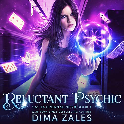 Reluctant Psychic audiobook cover art